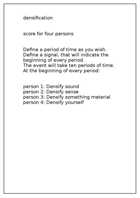 densificationscore einzeln
